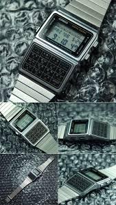 casio data bank calculator watch