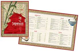 menu design template