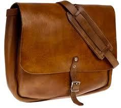 leather postal bag