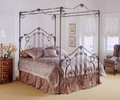 metal 4 poster bed
