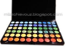 120 colour palette