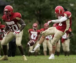 football kicking cleat