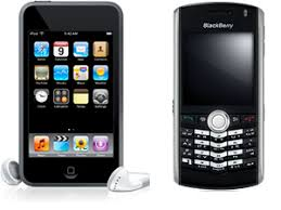 ipod blackberry