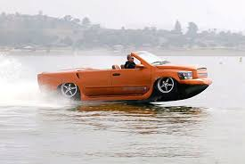 car that goes in water