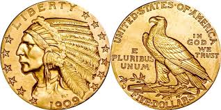 indian head gold