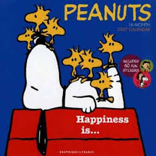 happiness is peanuts