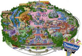 map of disney land
