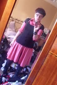 pink t shirt dress