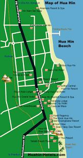 hua hin hotel map