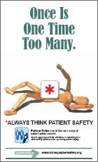 patient safety poster