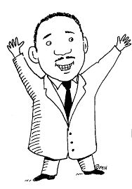 martin luther king clip art