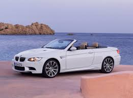 bmw white convertible