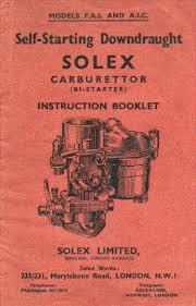 carburettor solex