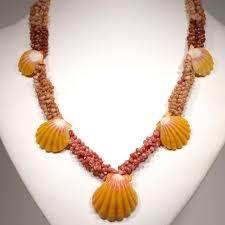 hawaiian shell necklaces