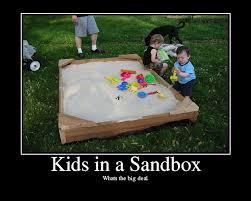 kids sandbox