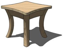 cartoon table