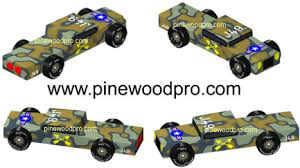 pinewood derby cars design
