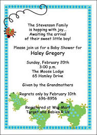 boy shower invitations