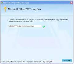 office 2007 keygens