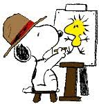 snoopy and woodstock clip art