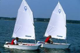 optimist sailing boats
