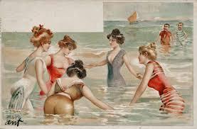 old seaside postcards