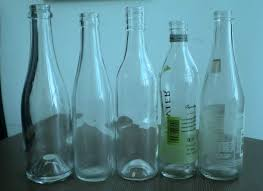 glass juice bottle
