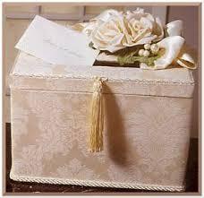 money box wedding