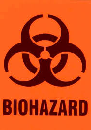 bio hazard label