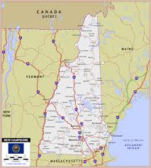 nh highway map