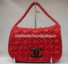 chanel handbag red
