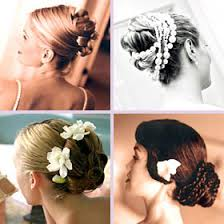 bridal hair picture
