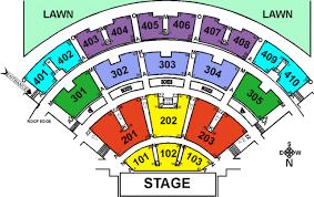 molson amphitheater seating chart