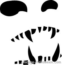 scary skeleton faces