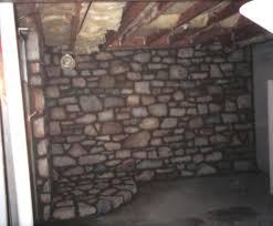 field stone walls