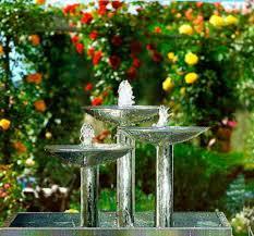 fuentes de jardines