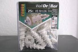 drywall screw anchors