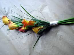 hand tied wedding flowers