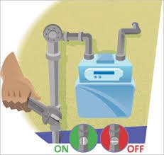 gas valve shut off