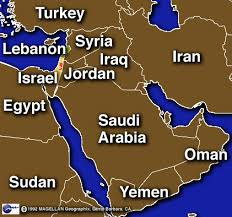 israel in the middle east