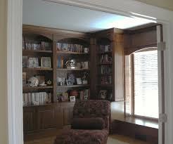 bookshelves corner