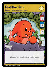 neopet trading cards