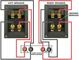 speaker wire connection