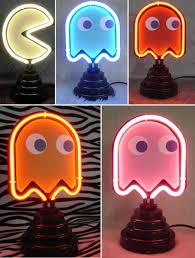 bright neon lights