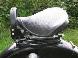 motorcycle passenger seats