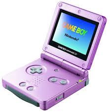 pink gameboy advanced