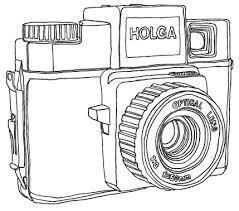 camera font