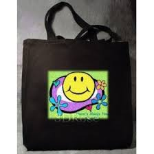 smiley face bag