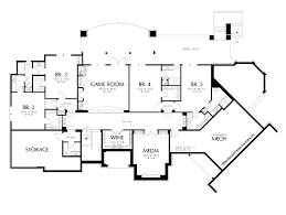luxury home floor plan