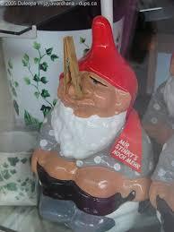 funny garden gnome